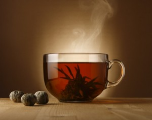 Tee und Whiskey